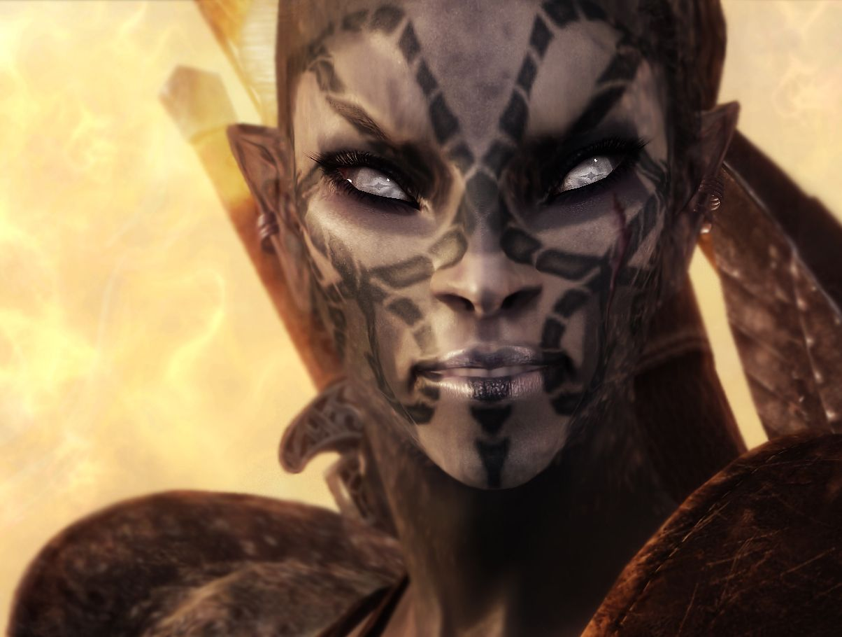 83Willows - JENASSA - DarkElf Follower Companion Makeover at Skyrim