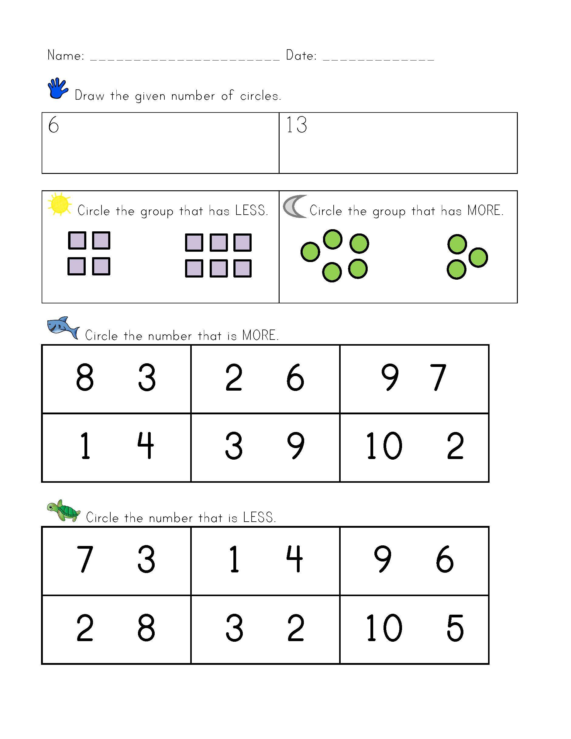 Kindergarten Ccss Math Assessments Counting And Cardinality Kindergarten Math Worksheets Addition Math Addition Worksheets Math Assessment [ 2431 x 1879 Pixel ]