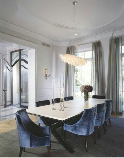 Elegant Dining And Entrance