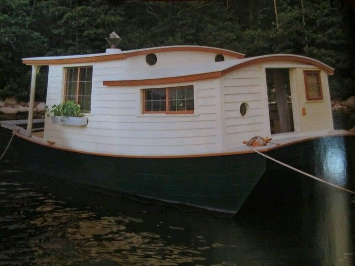 an unbelievable shantyboat houseboat in wooden boat magazine come sail away pinterest. Black Bedroom Furniture Sets. Home Design Ideas