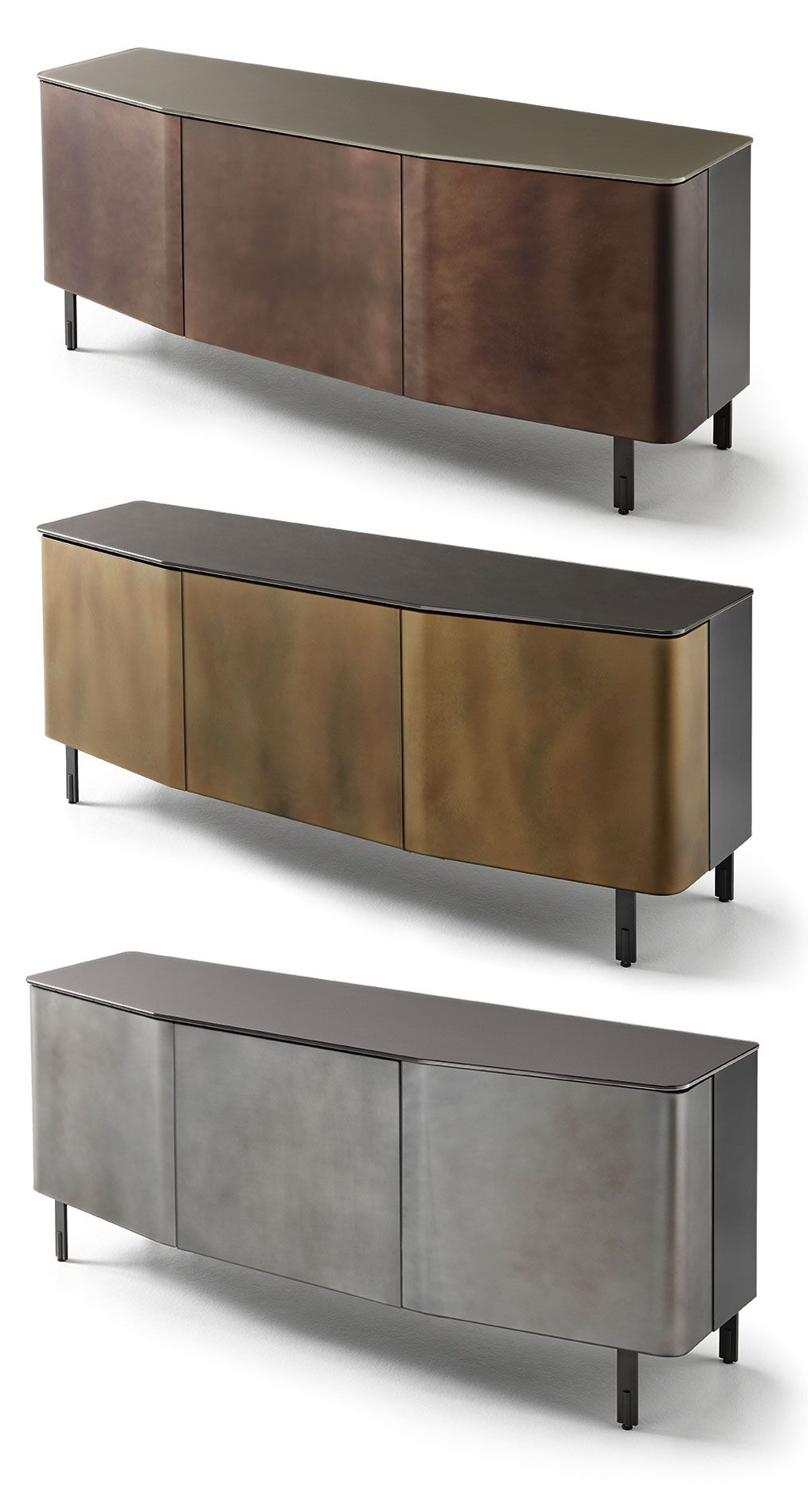 Plana Sideboard, Designed By Studio Klass For Fiam Italia -