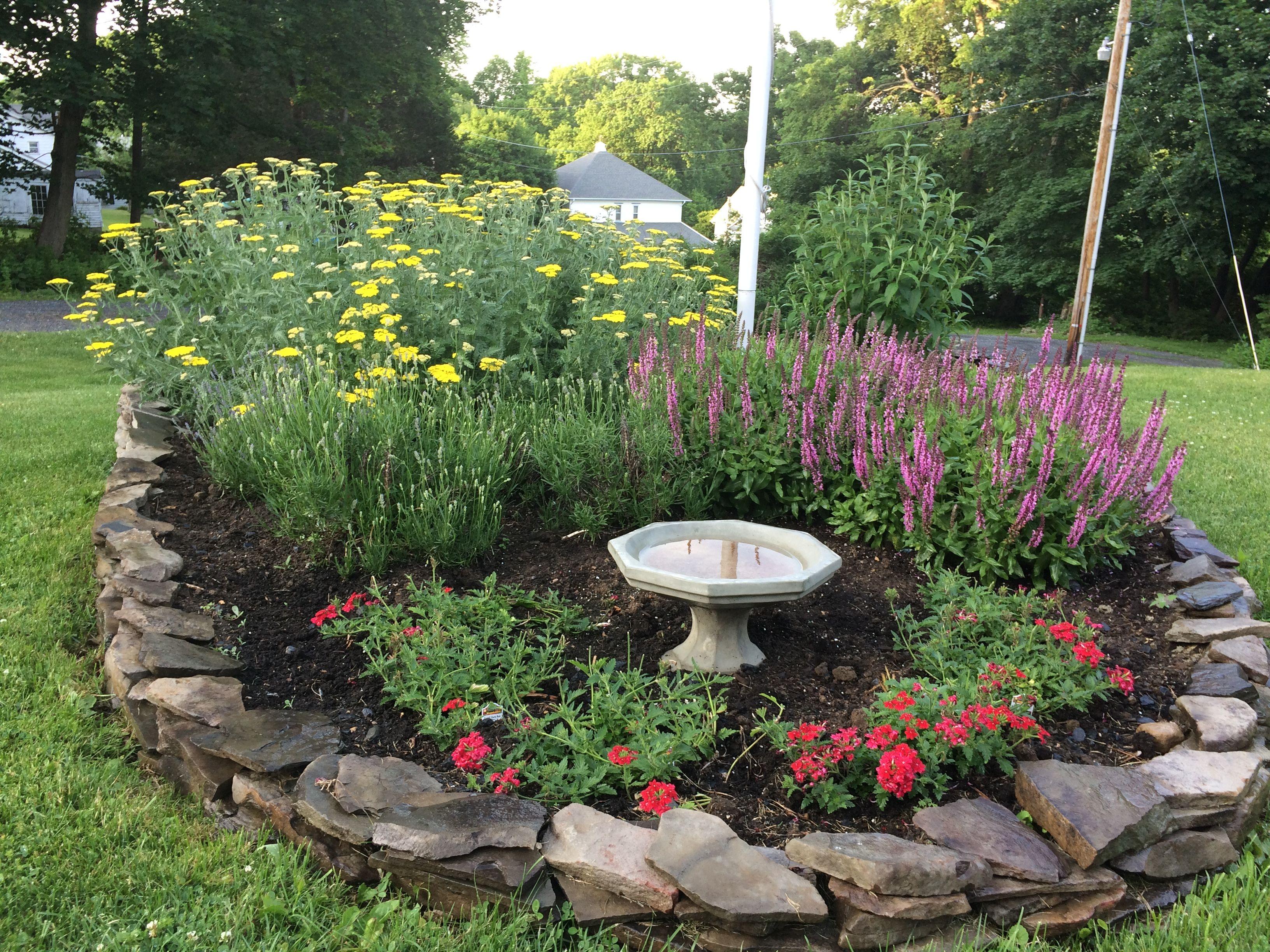 Flag Pole Garden Flag Pole Landscaping Landscaping With Rocks Front Yard Landscaping Design