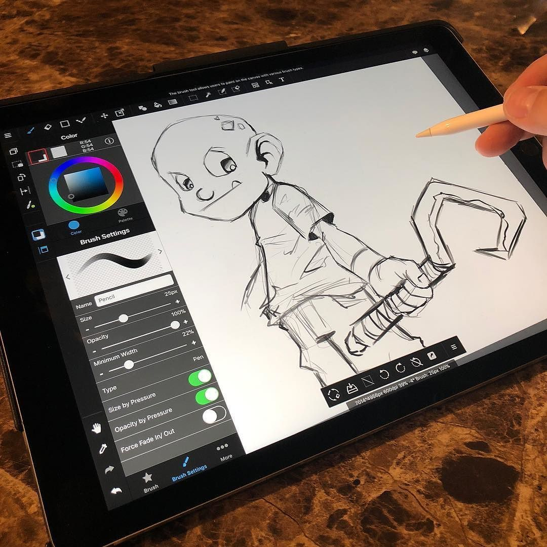 Quick Break To Test Out Medibang On Ipad Pro 12 9 Apple Pencil Is So Much Smoother Now On New Ipad Art I Creating Art Apple Pencil New Ipad