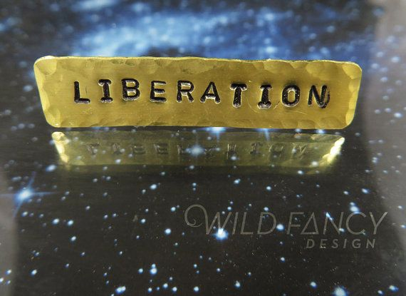 Liberation pin #wildfancydesign #queer #flagging #jewelry #liberation #pin
