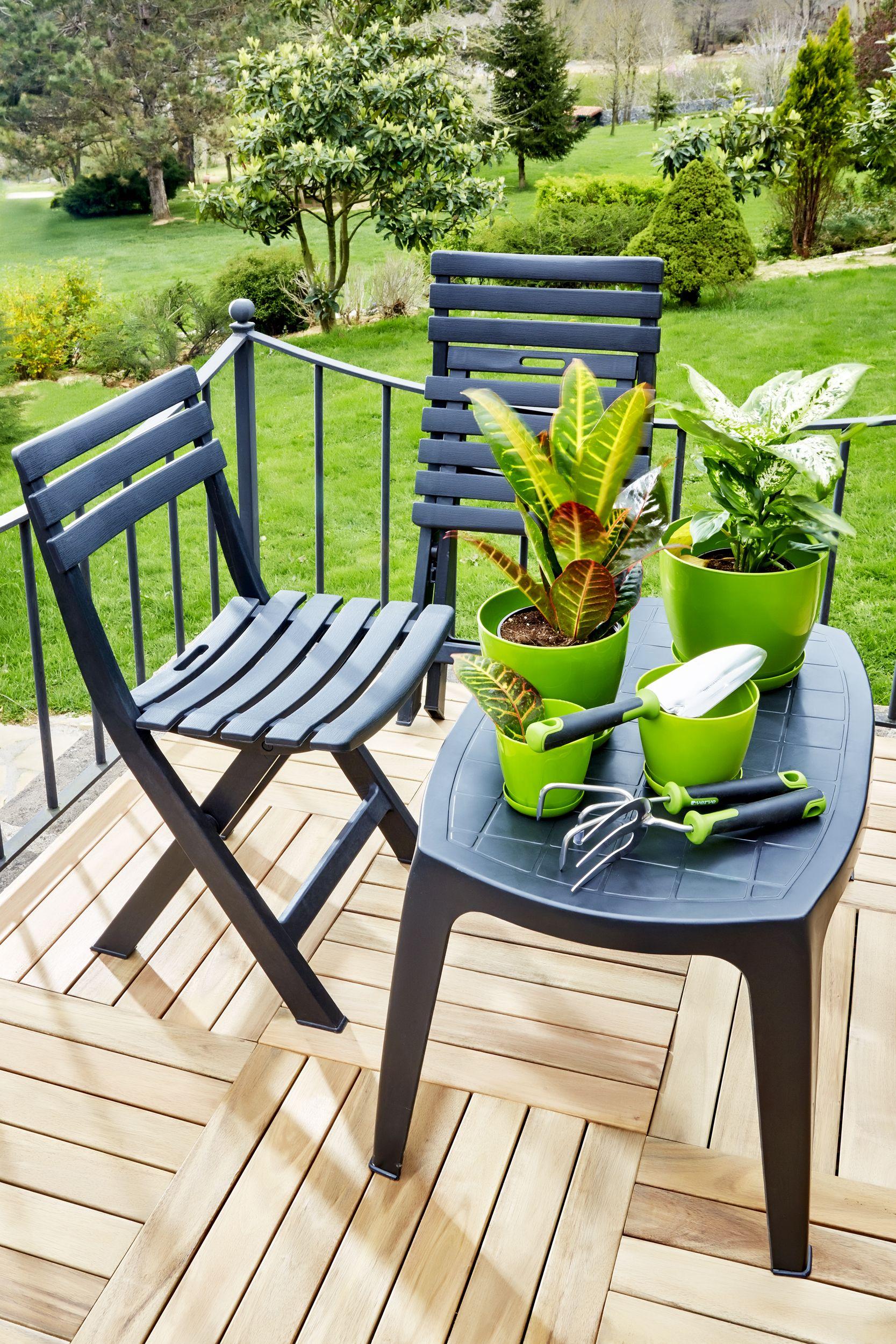 Bahce Koctas Set Garden Koltuk Sandalye Yesil Keyif Cicek