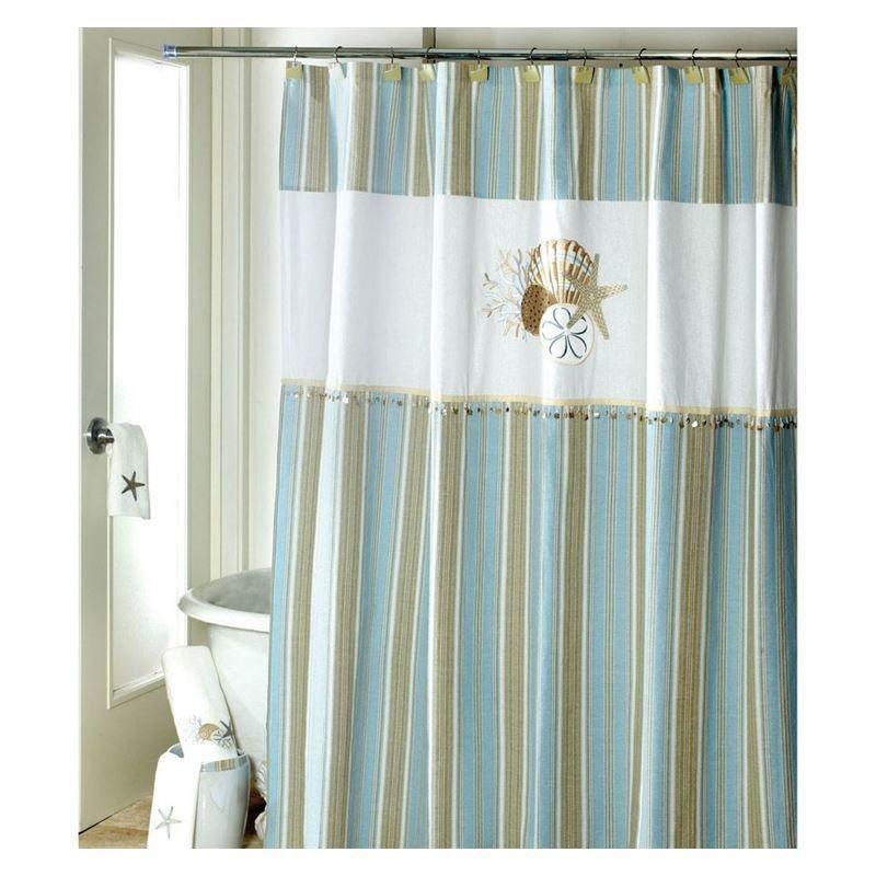Seashell Shower Curtain Hooks Set Of 12 Bronze Shower Hooks