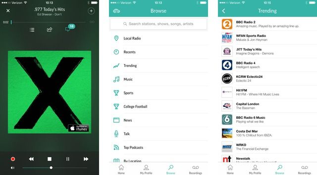 TuneIn Radio Pro Gets iPhone 6 and iPhone 6 Plus support