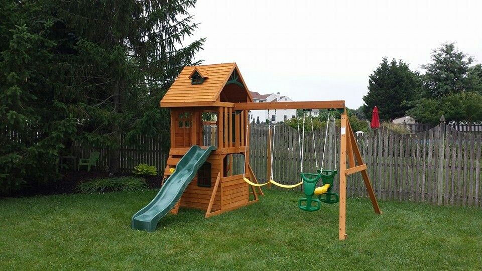 Big Backyard Ridgeview Playset From @ToysRUs Installed In Mullica Hill, NJ.