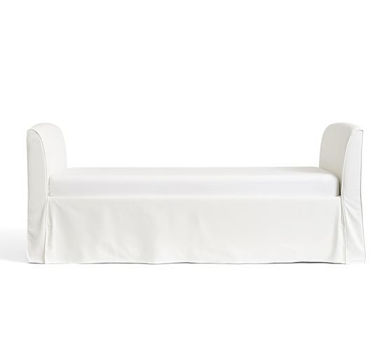 Lewis Slipcovered Daybed Pottery Barn With Images