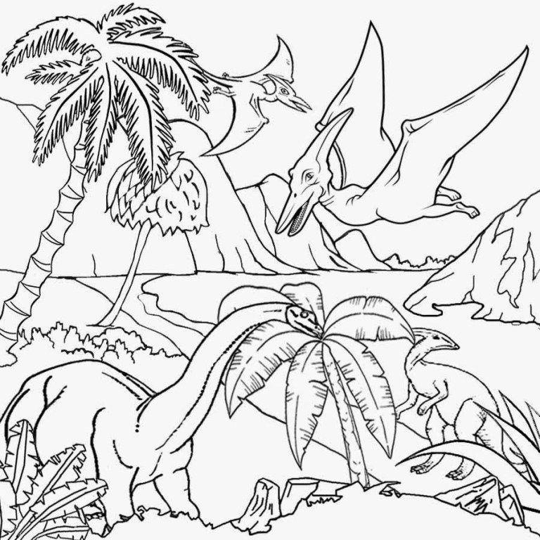 Pin By Porna Chupamutta On แบบฝ กห ดเด ก Dinosaur Coloring Pages Dinosaur Pictures Dinosaur Coloring