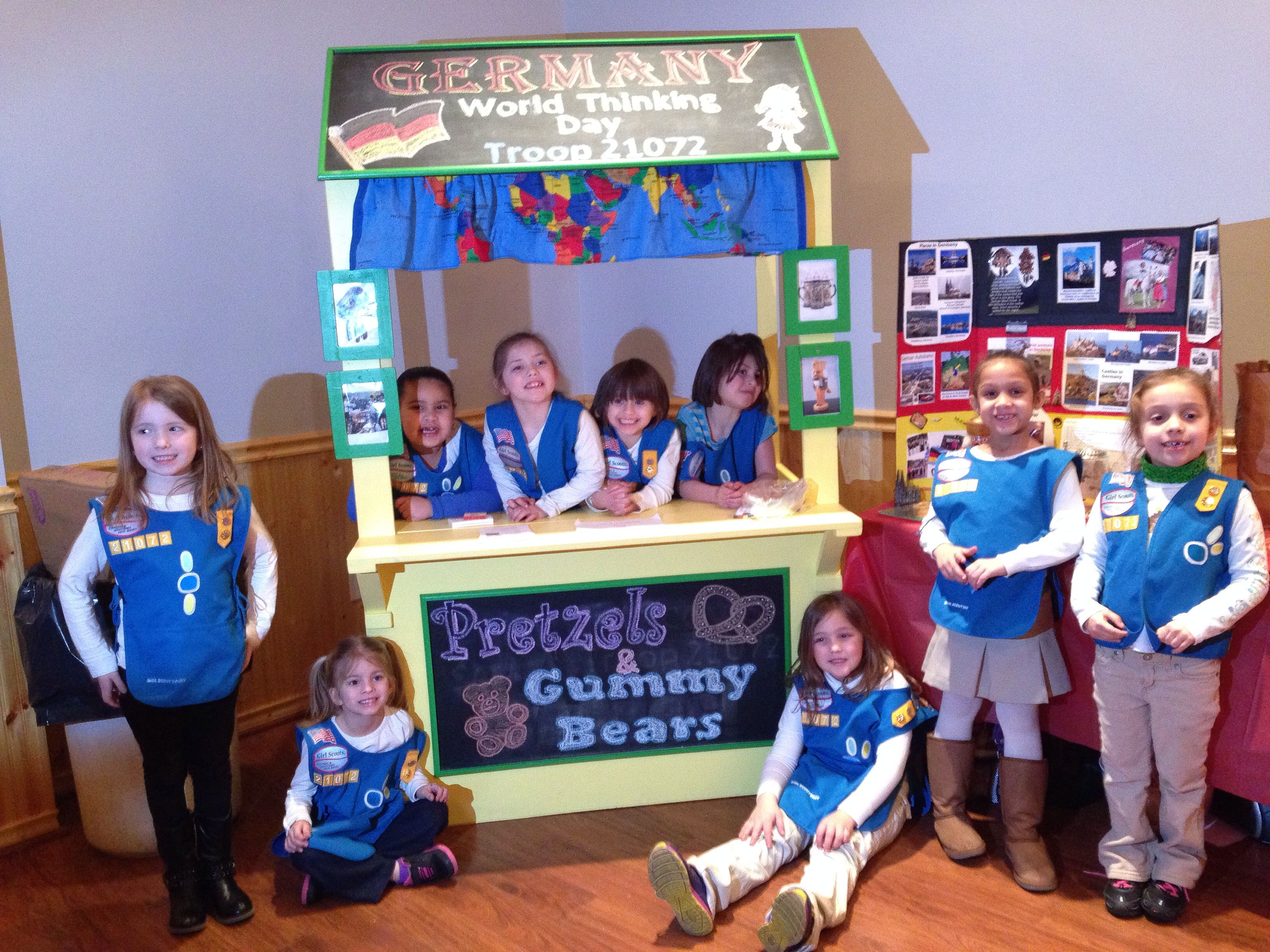 Girl Scouts World Thinking Day Germany With Images