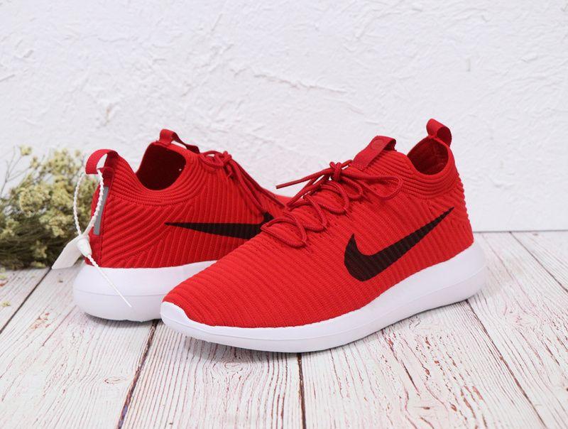 best sneakers fac2b e4c45 2018 Real Unisex Nike Roshe Two Flyknit V2 918263-600 ...
