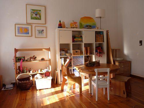 Image result for minimal waldorf playroom (mit Bildern