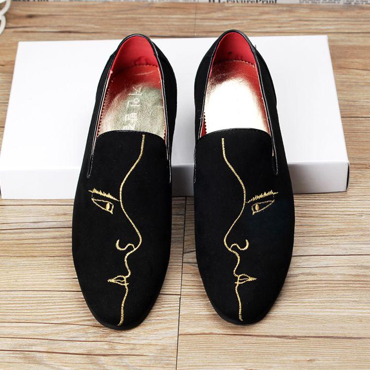 new 2017 men velvet loafers slip on flat casual shoes driving mocassins  designer loafers boat shoes