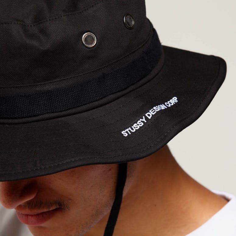 Stussy Boonie Hat Black Culture Kings Stussy Hats Black