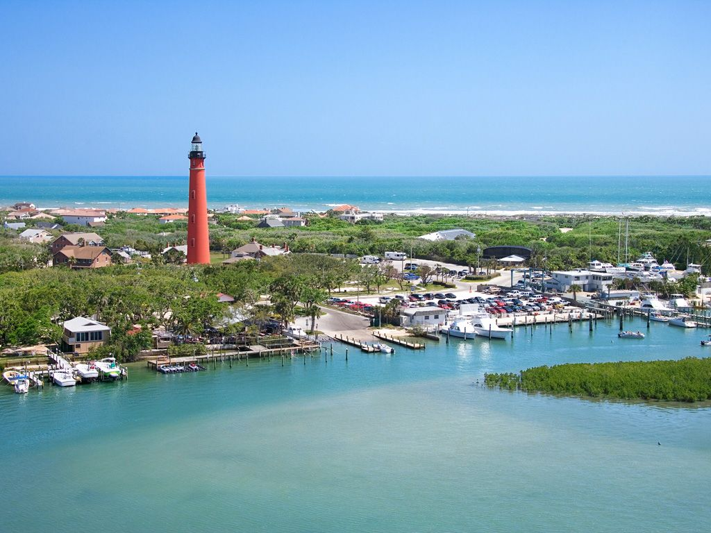 The Ponce De Leon Lighthouse Located South Of Daytona Beach In Inlet Fl Is One Areas Major Attractions