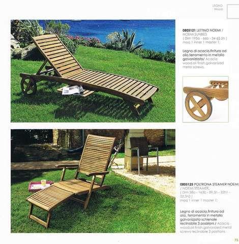 Muebles de jardin en madera, sillas desde 53,00 euros, mesas desde ...