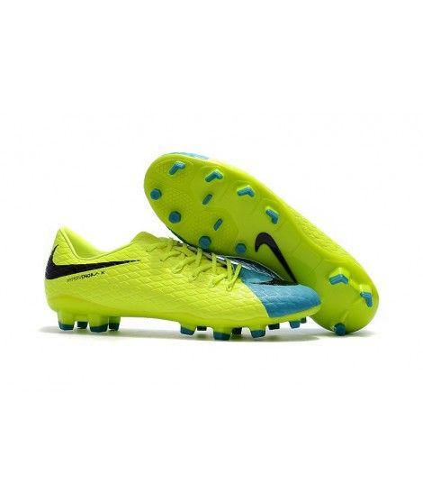 official photos bb9b0 7ac3d Nike Hypervenom Phelon III FG PEVNÝ POVRCH Žlutý Modrý Černá Muži Kopačky