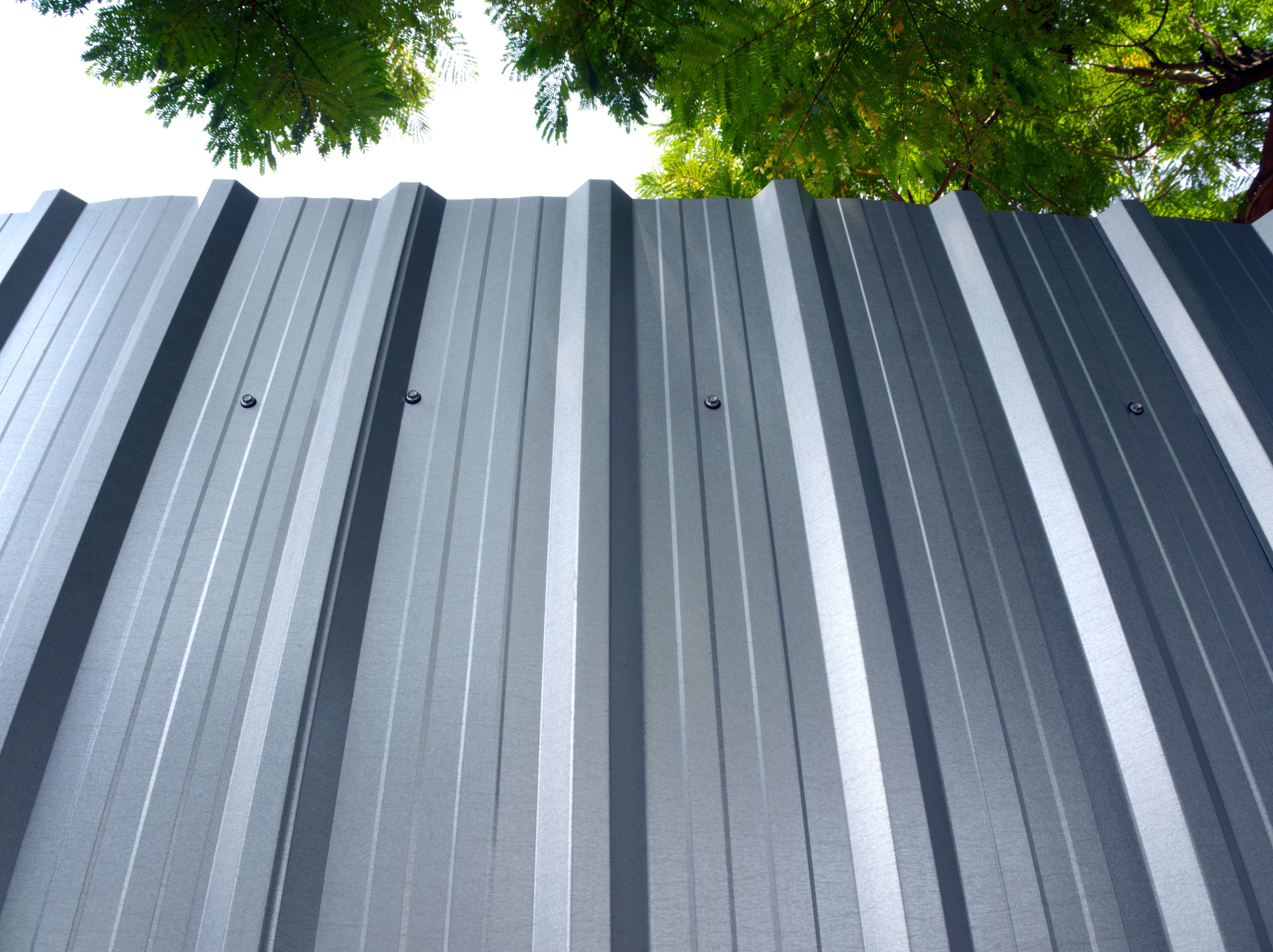 Diy Corrugated Metal Siding Hunker Corrugated Metal Siding Metal Siding Corrugated Metal Roof
