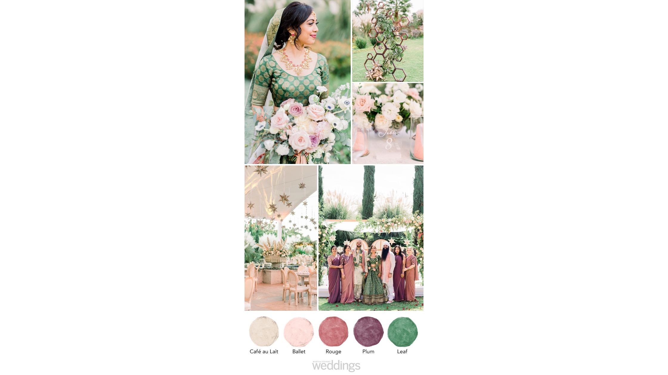 45 TriedandTrue Wedding Color Palettes to Inspire Your
