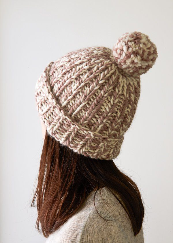 Snow Day Hat In New Colors Purl Soho Crafty Pinterest Purl