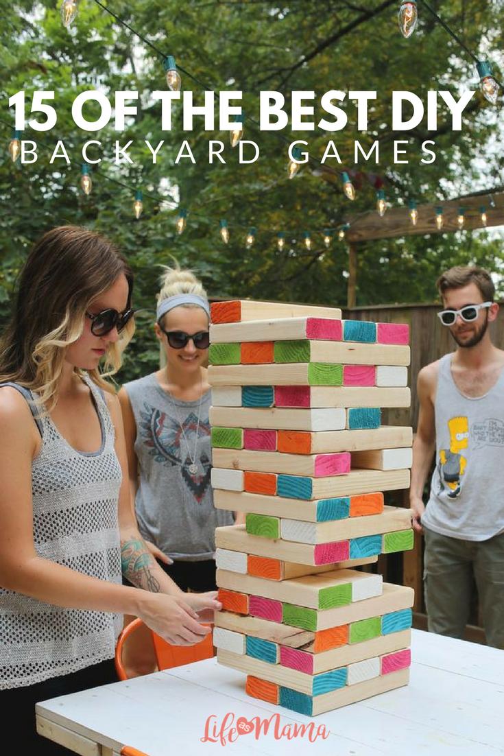 15 of the best diy backyard games diy games backyard and gaming
