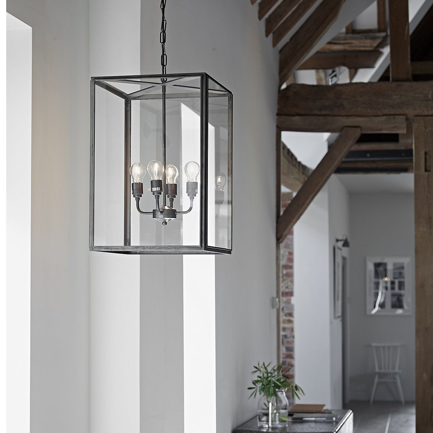 Davey Square Pendant Extra Large Ceiling Light The White Company Recessed Lighting Living Room Square Pendant Lighting Ceiling Lights