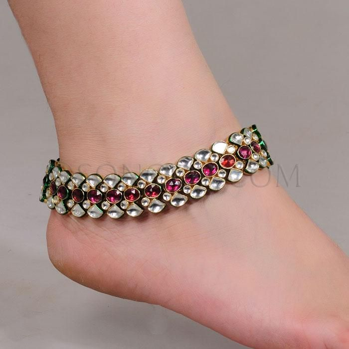 Anklet posts related to anklet jewelry payal sonoor jewels9 anklet