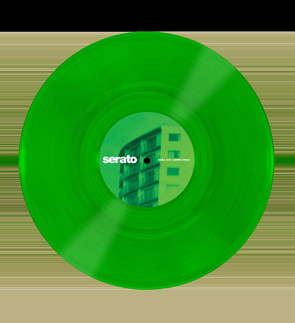 10 Serato Control Vinyl Green Glass Pair Serato Glass Vinyl Serato Com Green Glass Vinyl Glass
