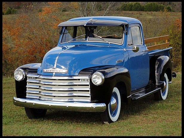 1953 Chevrolet 3100 Pickup 235 150 Hp 3 Speed At Mecum Auctions Chevrolet 3100 Old Pickup Trucks Classic Trucks