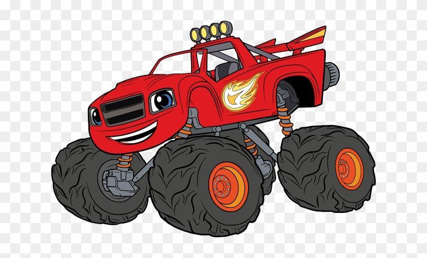 monster clip clipartmax blaze birthday machines cartoons clipart 3rd cartoon