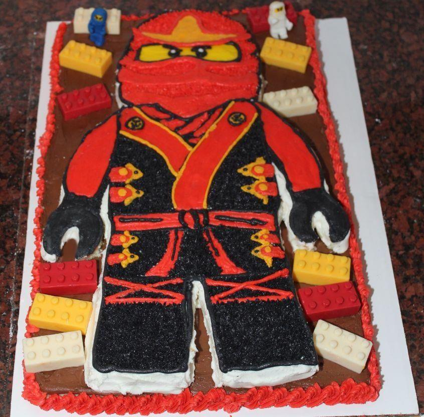 Cake Decoration Ninjago : Lego Ninjago Cake Cakes Pinterest Lego ninjago cake ...