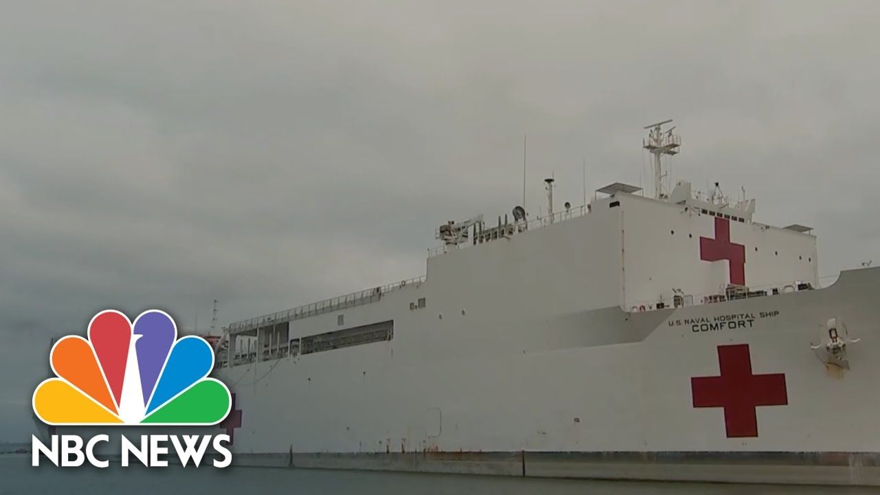 Usns Comfort Prepares For Deployment To New York City Nbc News Now In 2020 Safe Gift