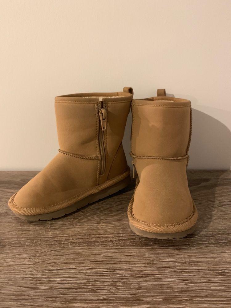 68379b60fa7 Toddler Girls Gap Tan Sherpa Lined Boots Size 9 #fashion #clothing ...