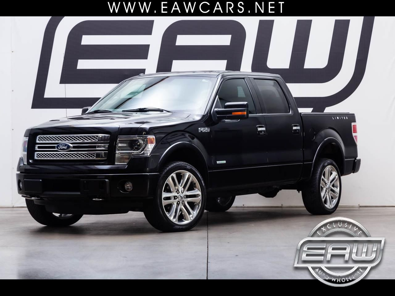 (eBay Advertisement) 2013 Ford F150 LIMITED SUPERCREW 4WD