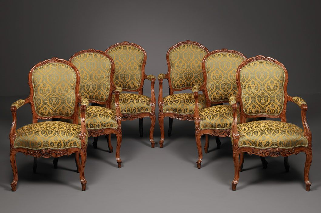 French Transitional Armchairs