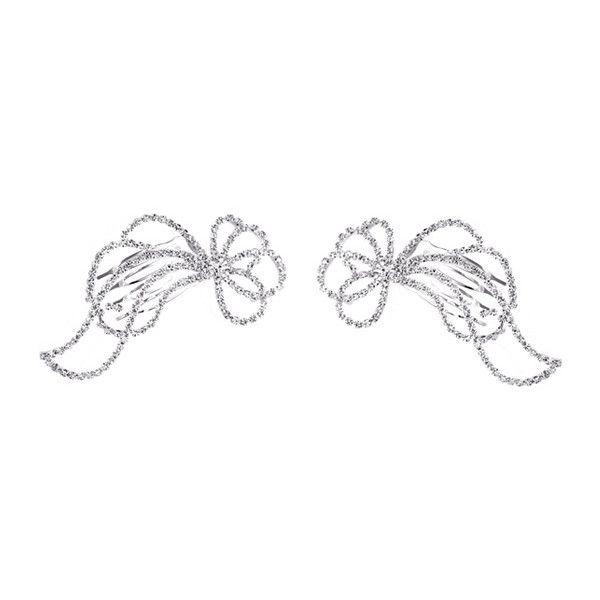 Rhinestone Hair Combs Accessories (12 AUD) ❤ liked on Polyvore featuring accessories, hair accessories, sparkly hair accessories, rhinestone comb, rhinestone hair comb, hair comb accessories and hair comb