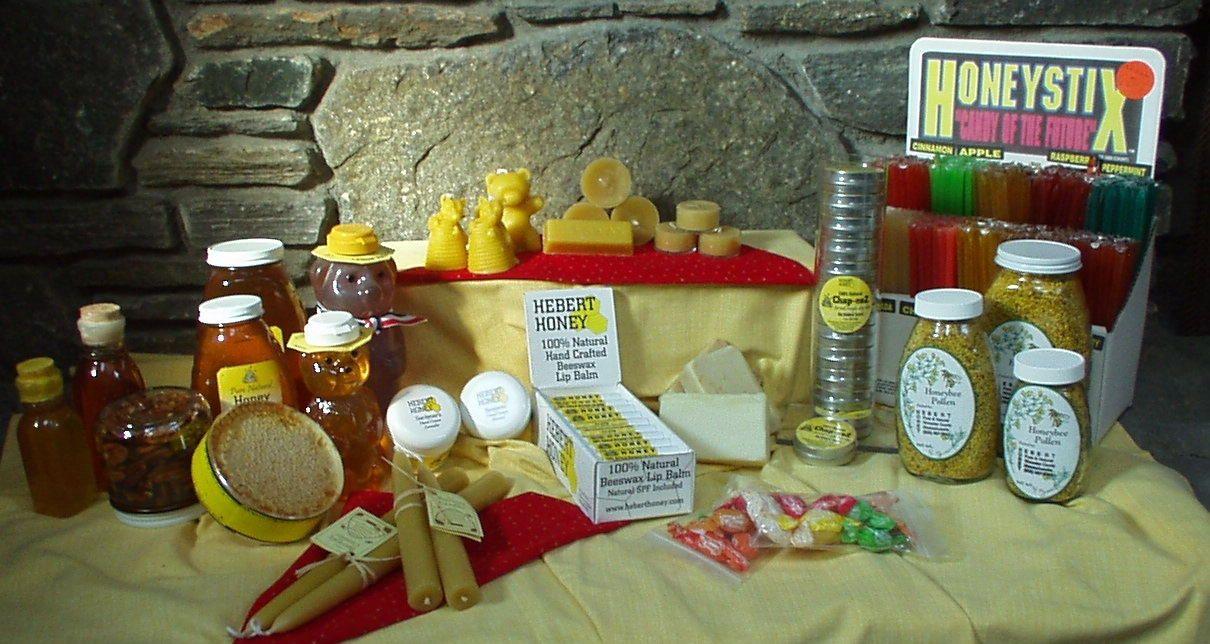 Hebert honey products 100 natural honey bee pollen
