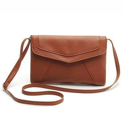 d8602801935b New Fashion Womens PU Leather Crossbody Satchel Shoulder Handbag Messenger  Bag