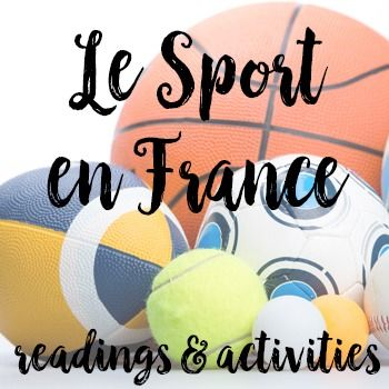 Le Sport En France Readings And Activities Activities Sports Comprehension Questions