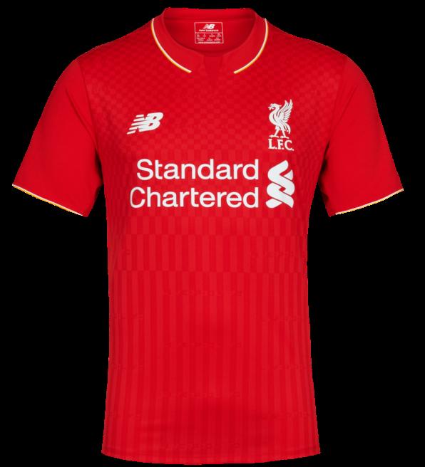 2015-2016 Liverpool Away Long Sleeve Shirt Kids