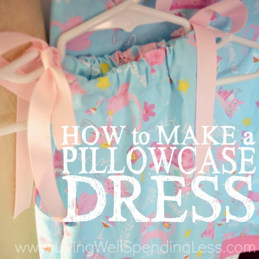 DIY Pillowcase Dress   Handmade Pillowcase Dress   Pillowcase Dress Tutorial   Easy Pillowcase Dress   Pillowcase Dress