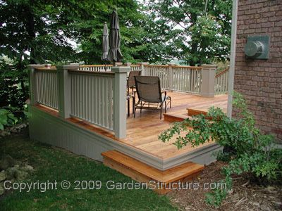 Best 25 Large Decks By Gardenstructure A Gallery Of Large Deck Ideas Backyard Wood Deck Patio Patio