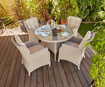 Buy Heart Of House Argenta 4 Seater Patio Set At Argos Co Uk Visit Argos Co Uk To Shop Online For Garden Table And Chair Sets Garden Table Chairs Garden Table Table Chair Sets