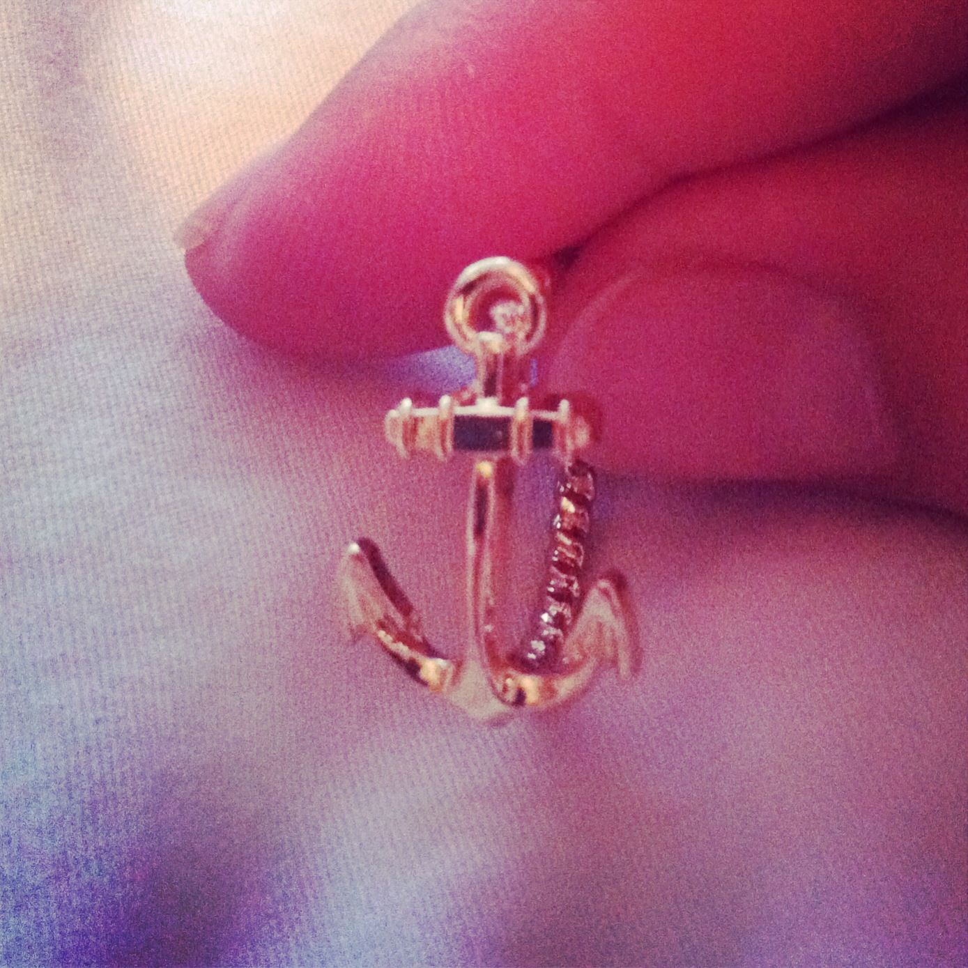 Anchor ring :) I\'ve been looking for something to do for a lost wax ...