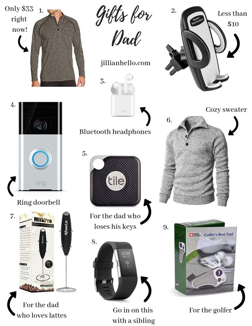 Gift Ideas For Dad Gifts For Him Christmas Gifts Holiday Present Ideas Christmas Giftguide Geek Dad Gifts Christmas Gift For Dad Gift Guide For Him