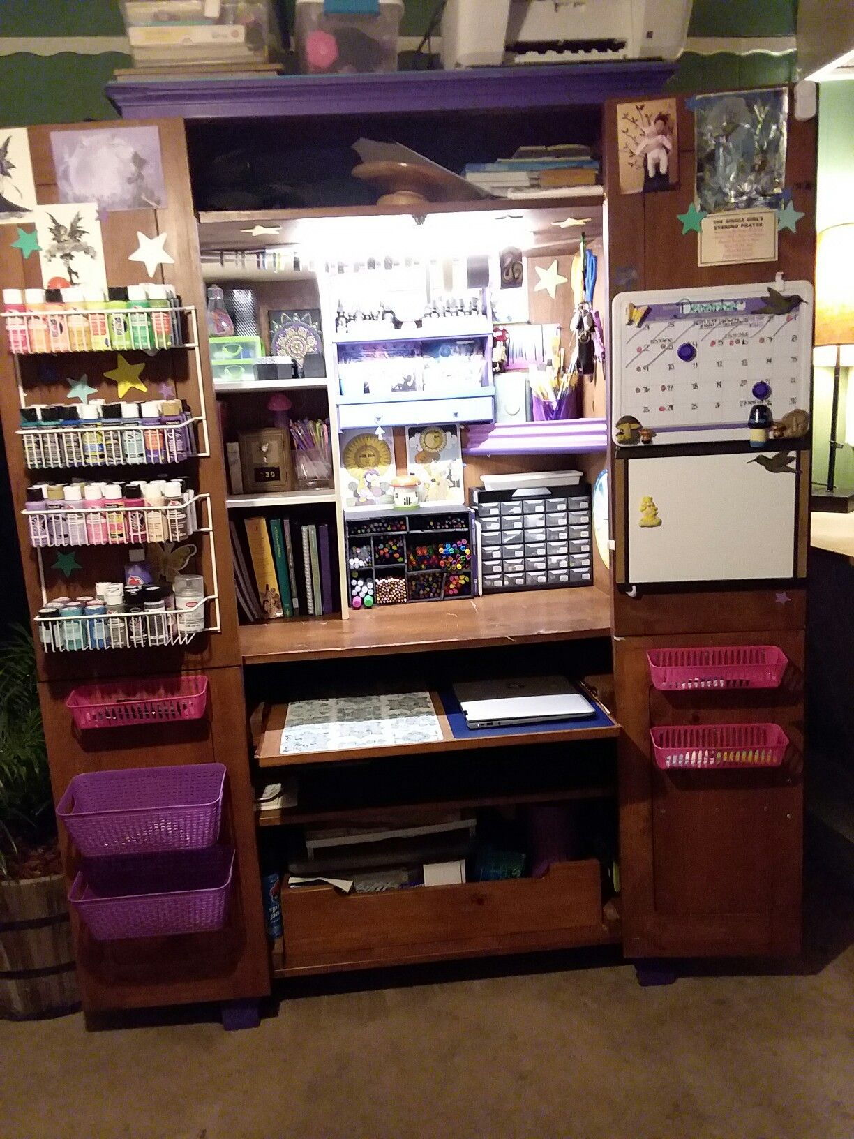 35++ Diy craft cabinet ideas information