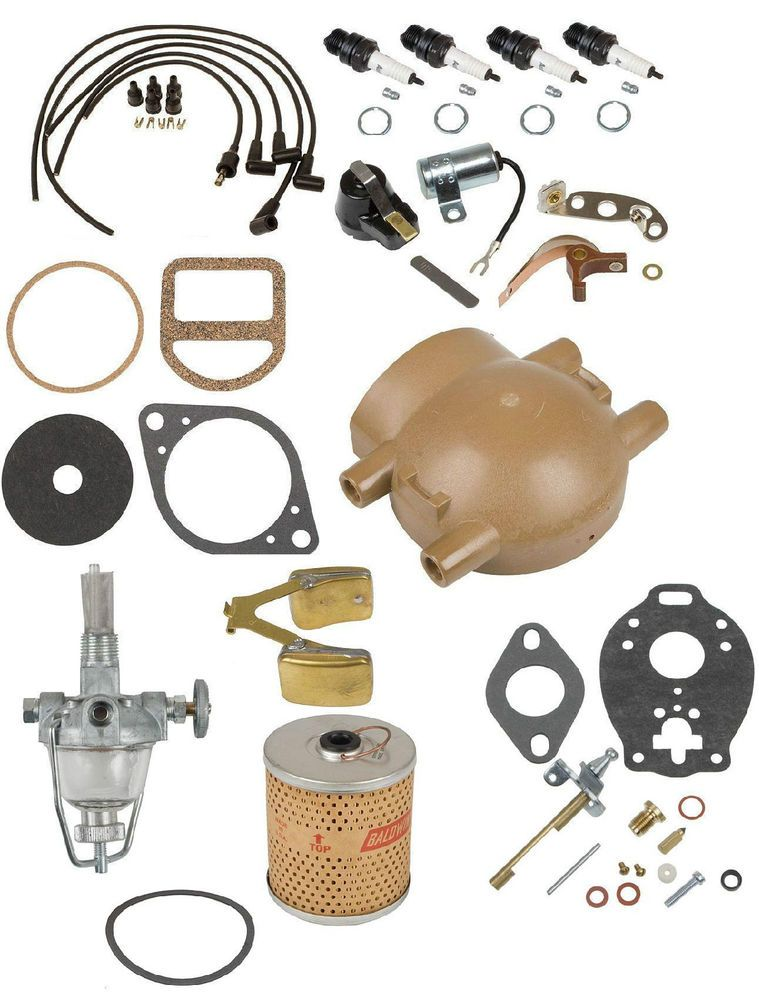 Details about Comprehensive Maintenance & Tune Up Kit w ... on ford 8n gaskets, ford 8n timing marks, ford 8n plug wires, ford 8n paint code, ford 8n transmission, ford 8n headlights, ford 8n firing order, ford 8n flywheel, ford 8n starter, ford 8n shop manual, ford 8n oil pump, ford 8n distributor, ford 8n exhaust, ford 8n front bumper, ford 8n tune up, ford 8n points install, ford 8n steering wheel, ford 8n ignition timing, ford 8n emblem, ford 8n gas cap,