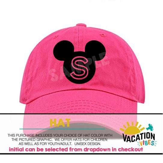 38bd3e0ba9e72 Mickey Disney Hat Kids Personalized Toddler Boy or Girl