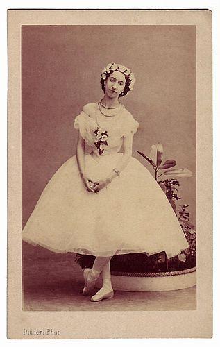 Andre Adolphe Eugene Disderi Emma Livry Carte De Visite Kindly Provided By Paul Frecker A New Exhibition Portraits Dancer